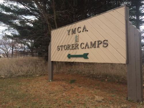 Old Sign with Evergreen logo